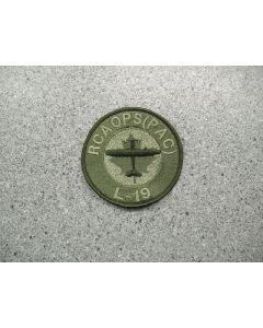 4240 238 F - RCAOps (Pac) L-19 Patch LVG