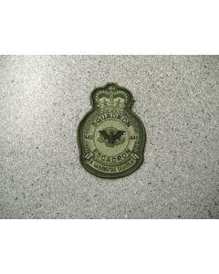 4283 104 A - 440 Squadron Heraldic Crest LVG