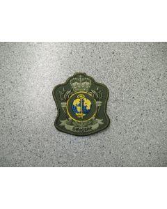 4302 - CFANS Heraldic Crest LVG with Colour Insert