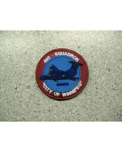 4337 222 D - 402 Squadron - City of Winnipeg Patch