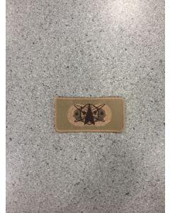 4379 - Space Command Qualification Badge Tan (Colorado Springs)