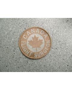 4400 298G - Canada Flight Surgeon Patch Tan