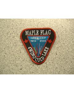 4420 - Maple Flag Centennial Patch Combo