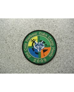 4579 - 2nd Cole Harbour Cubs Camp Harris 2009 patch
