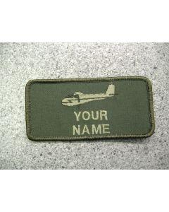 4618 - Glider Nametag LVG