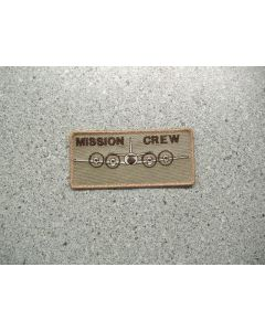 4676 280 B - Mission Crew Nametag Tan