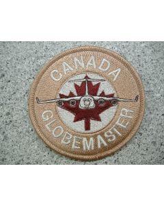 4829 127E - Canada Globe Master Patch Tan