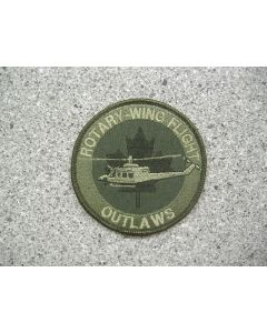5014 115 B - Rotary-Wing Flight Outlaws Patch LVG