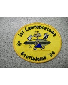 5070 196 D - 1st Lawrencetown ScotiaJam Patch