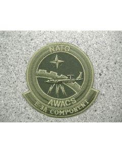 5101 288 B - NATO AWACS E-3A Component Patch LVG
