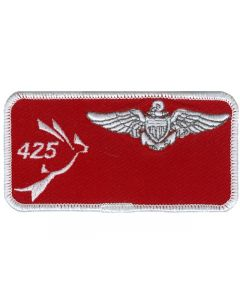 5136 - 425 Nametag with US Pilot Wings