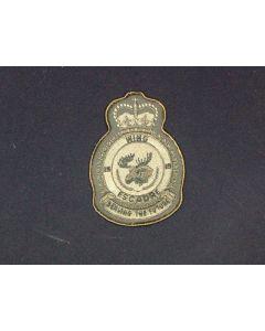 518 122C - 15 Wing Heraldic Crest LVG