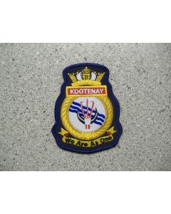 5259 160B - HMCS KOOTENAY We Are AS One Patch
