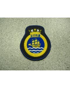 539 36 - HMCS VILLE DE QUEBEC Helairdet Patch