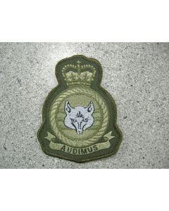 5399 299G - ADAC Heraldic Crest LVG Silver Fox