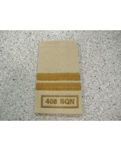 5423 SO15 - Capt Rank slip-on 408 sqn Tan