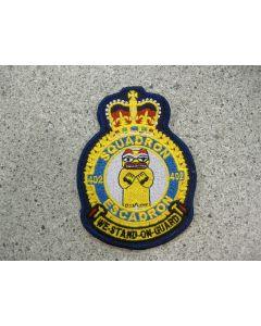 5428 - 402 Squadron Heraldic color