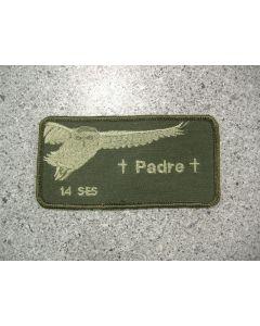 5436 - 14 SES Padre Nametag LVG