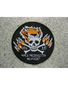 5467 267 F - HMCS FREDERICTON Helairdet color patch
