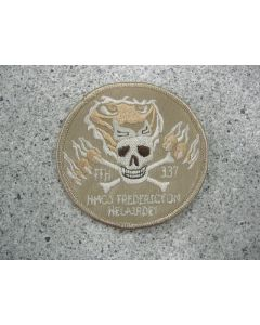 5487 426F - HMCS FREDERICTON Helairdet patch Tan