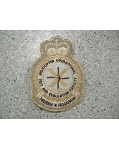 5505 - HOTEF Heraldic Crest Tan