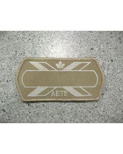 5544 - AETE Nametag Tan