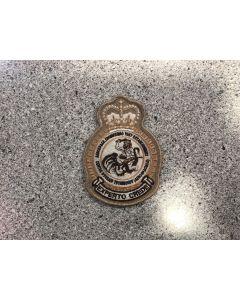 5547 - AETE Heraldic Crest Tan
