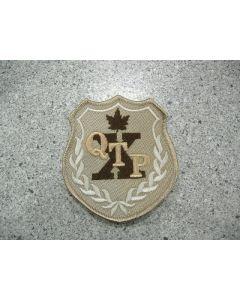 5553 717 C - QTP Patch Tan