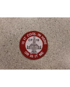6026 307F - Is it Cool in Here Patch color