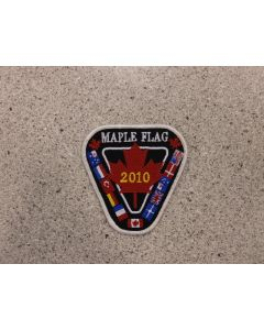 6123 260 A - Maple Flag 2010 Patch
