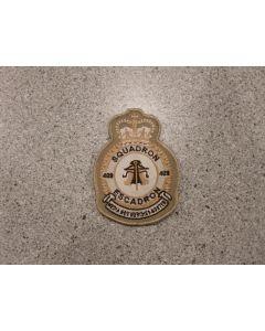 6206 279 D - 409 Squadron Heraldic Crest Tan