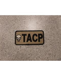 6208 - TACP Patch with Skull tan