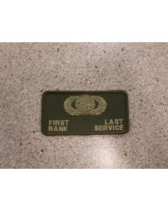 6263 - Maple Flag USAF Intel Nametag LVG