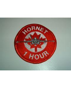 654 32U - Hornet 1 Hour Patch