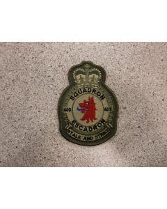6582 719 G - 403 Squadron Heraldic Crest Coloured LVG