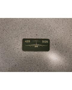 6614 - 429 Sqn Nametag LVG