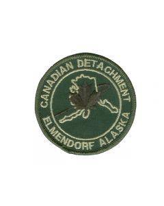 6628 - Canadian Detachment Elmendor Alaska Patch LVG