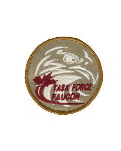 6743 718 D - Task Force Faucon Patch Tan