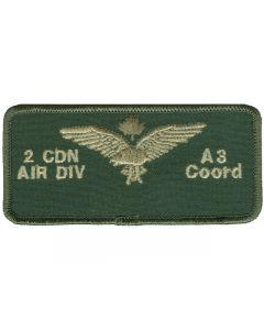 6770 - 2 Cdn Air Div - A3 Coord Nametag LVG
