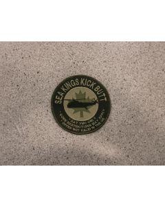 6774 295 C - Sea King Kick butt Patch LVG