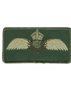 6851 712 E - WWII RCAF Wings Nametag LVG