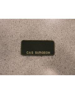 6916 - CAS Surgeon Nametag LVG