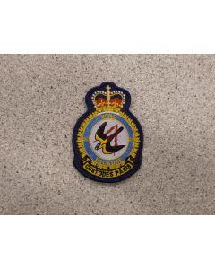 7060 293G - 22 Wing Heraldic Crest