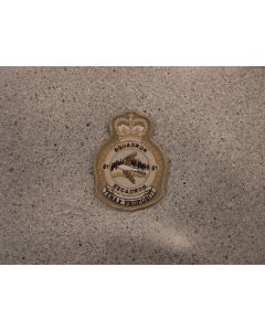 7109 - 51 Squadron Heraldic Crest Tan