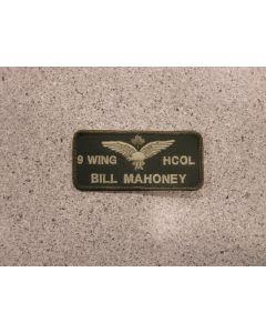 7506 - 9 Wing HCOL Nametag LVG