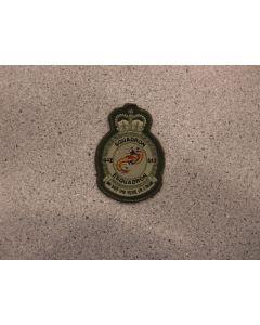 7600 - 442 Squadron Crest Heraldic Coloured LVG