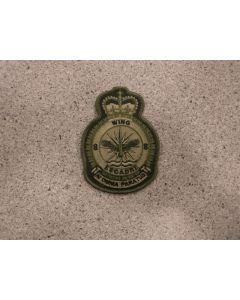 7672 8 Wing Heraldic Crest LVG