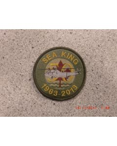 7694 345H - Sea King 50 1963-2013 Patch Coloured LVG