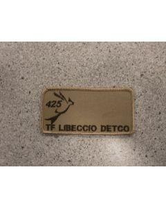 7700 425 Sqn nametag Tan TF Libeccio DETCO