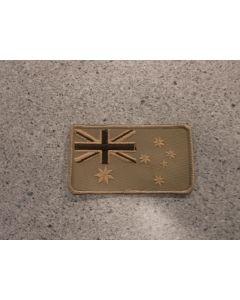 7737 - Australian Flag Patch Tan